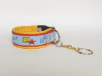 Clickerarmband Rally-Obedience blau-rot-gelb