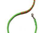 Hollandleine (teilgeflochten) - Länge 1,20 m - Farben: apfelgrün-orange