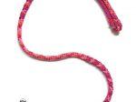 Hollandleine (teilgeflochten) - Länge 1,20 m - Farben: Candy Stick-fuchsia