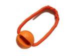 Mystery-Ball orange mit Band (PPM-Seil orange) - Balldurchmesser 6,6 cm