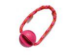 Mystery-Ball pink mit Band (PPM-Seil Candy Stick) - Balldurchmesser 6,6 cm