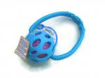 JW Crackle-Ball blau - Größe Medium (Balldurchmesser 7,6 cm) mit Band - EUR 12,00