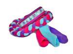"""Agility-Zergelleine """"Springtime türkis"""" - Halsung bis 36,5 cm - Breite ca. 3,3 cm incl. Airmesh-Unterfütterung (Halsung) - Gurtband pink (25 mm - Halsung) - Fleece flieder, pink und helltürkis (Leinenteil) - Airmesh lila"""