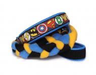 Agility-Zergelleine Superhero blau-gelb