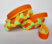 Agility-Zergelleine orange-gelb-neongrün