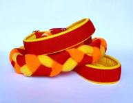 Agility-Zergelleine rot-gelb-neonorange