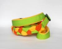 Agility-Zergelleine hellgrün-gelb-orange