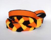 Agility-Zergelleine orange-schwarz-gelb