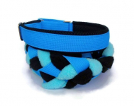 Agility-Zergelleine blau-schwarz-hellblau