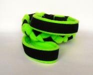 Agility-Zergelleine schwarz-neongrün