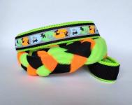 Agility-Zergelleine Neon-Dogs mit neongrüner Airmesh-Unterfütterung