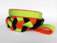 Agility-Zergelleine hellgrün-orange-schwarz