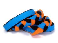 Agility-Zergelleine blau-schwarz-neonorange