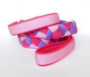 Agility-Zergelleine rosa-pink-flieder - mit Airmesh-Unterfütterung