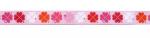 Glücksklee rosa - 15 mm