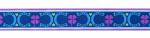 Hufeisen blau - 15 mm