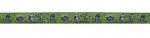 Kritzelmonster grün - 15 mm