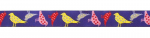 Punktevögel lila - 15 mm