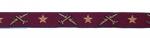Flieger Bordeaux - leicht changierend - 15 mm