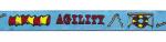 Agility hellblau - 15 mm