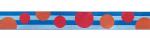 Retropunkte blau - 15 mm