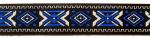 Olympia Blau-Silber - 25 mm