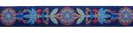 Pinwheel marine-terracotta-blau - 24 mm