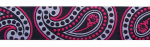 Paisley Pink - 28 mm