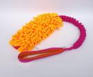 Mopik neonorange-pink mit Quietschi - Gesamtlänge ca. 59 cm