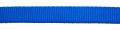 Mittelblau - weiches dickes Nylongurtband - 20 mm