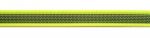 neongelb - 20 mm - beidseitig gummiert