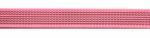 rosa - 20 mm - beidseitig gummiert