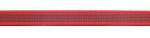 rot - 20 mm - beidseitig gummiert