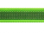apfelgrün - 20 mm - beidseitig gummiert