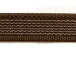 braun - 20 mm - beidseitig gummiert