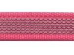 pink - 20 mm - beidseitig gummiert