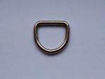 besonders stabiler D-Ring - verfügbar für Gurtbandbreite 25 mm