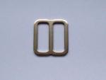 Verstellschieber Metall - verfügbar für Gurtbandbreite 20 und 25 mm - für besonders dicke Borten