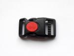 Sicherheits-Klickverschluss - verfügbar für Gurtbandbreite 25 mm
