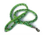 Hollandleine teilgeflochten Gecko-apfelgrün