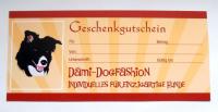 Geschenkgutschein Dami-Dogfashion