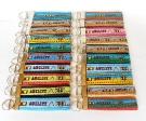 Agility - diverse Farben - ca. 11,5 cm zzgl. Metallöse und Schlüsselring