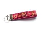 Flowergarden - ca. 11,5 cm zzgl. Metallöse und Schlüsselring