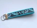 Paisley Coco - ca. 15 cm zzgl. Metallöse und Schlüsselring