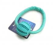 Dental-Ball in mint - Größe S (Balldurchmesser 5 cm) mit Band