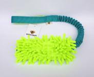 Mopik lime-grün mit und ohne Quietschi mit ruckdämpfendem Bungeegriff von Dogscraft