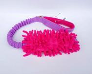Mopik pink-flieder mit und ohne Quietschi mit ruckdämpfendem Bungeegriff von Dogscraft