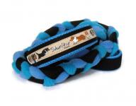 Agility-Zergelleine zum Überziehen - Sheltiepower meerblau-türkis - Halsung bis 35 cm