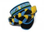 Agility-Zergelleine zum Überziehen - Jack Russell - Halsung bis 35 cm