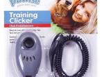 Trainingsclicker von Pawise mit Spiralarmband - daher für alle Handgelenksgrößen geeignet